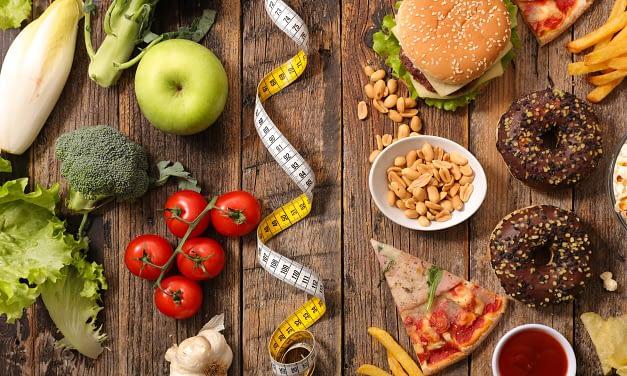 Le menu type en rééquilibrage alimentaire